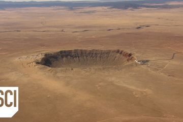 What Is in a Meteor Crater