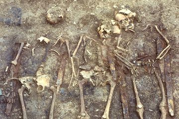 German skeletons hint that medieval warrior groups recruited from afar