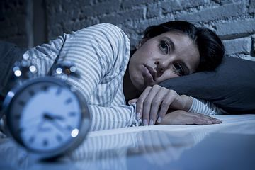 A lack of sleep can induce anxiety