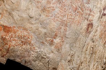 Like Europe, Borneo hosted Stone Age cave artists