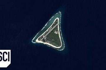 This Island Disappeared From Satellite Images | What on Earth