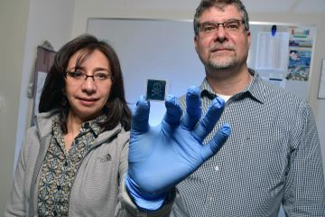 NSF Award funds sensor research at Kent State's new Advanced Materials Institute