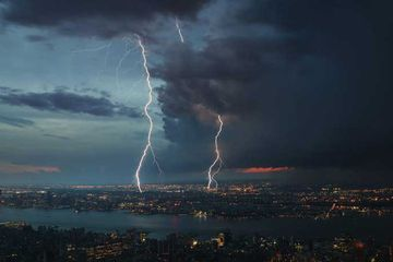 Muons reveal the whopping voltages inside a thunderstorm