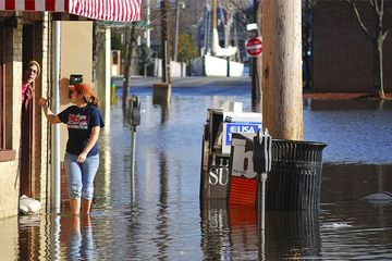 Tidal floods driven by climate change may hurt small businesses