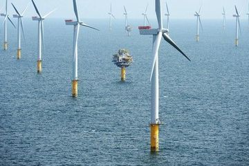 By 2030, 1/3 of UK energy will come from offshore wind
