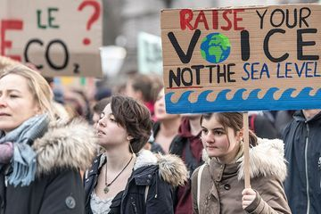 Students worldwide are striking to demand action on climate change