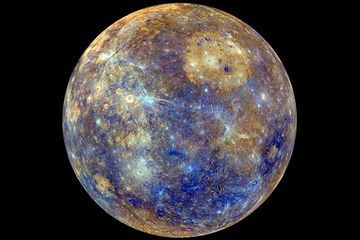 Mercury has a massive solid inner core
