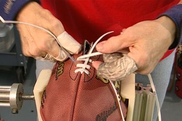 How Are NFL Footballs Made
