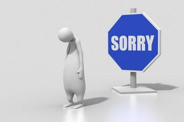Too Late To Apologize – Unless You Have an Excuse