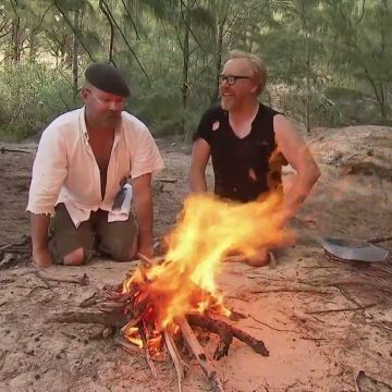 How to Create a Fire Using Duct Tape | MythBusters
