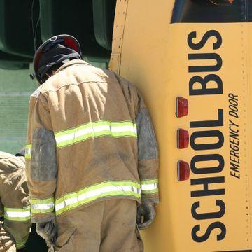 Mesquite ISD Bus Flips and Catches on Fire Leaving One Student Dead