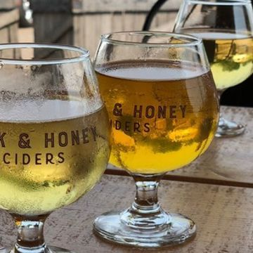 Cheers! Solar farm cider powers up