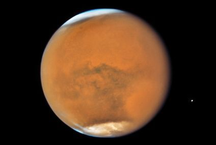 Mars' lake may need an underground volcano to exist